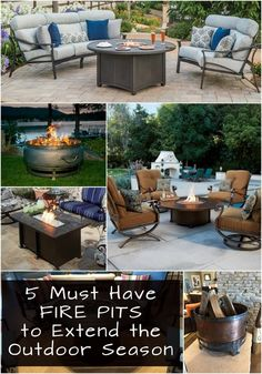 Five Must Have Fire Pits to Extend the Outdoor Season - Entertaining Design