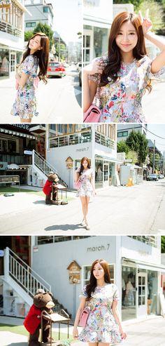 Colorful Floral Dress