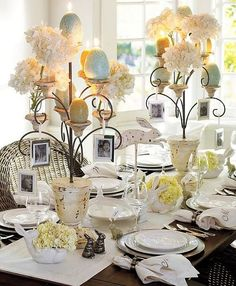 Dining Table Decoration Ideas 2013 Dining Room Decoration Ideas 2013 006 – Style.Pk