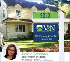 Another home #SOLD by Debra Botwinick! For more details contact 201-851-1035 or www.vera-nechama.com  More Listings. More Experience. More Sales. #teaneck #bergenfield #newmilford #englewood #realestate #veranechamarealty #njrealestate #realtor - http://ift.tt/1QGcNEj