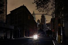Темный Нью-Йорк
