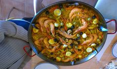 Paella familiar mixta