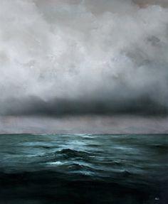 The Ocean: Paintings by Adam Hall (Artist on tumblr)
