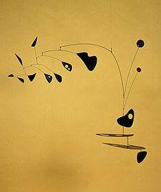 Speedboys: Alexander Calder mobile sculptures