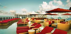 The Haven sun deck on board Norwegian Cruise Line