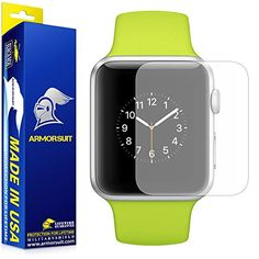 ArmorSuit MilitaryShield For Apple Watch 38mm Matte Screen Protector Series 1 Full Coverage 2 Pack AntiGlare  Lifetime Replacements ** You can find more details by visiting the image link. (Note:Amazon affiliate link)