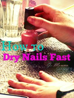 how to dry nails fas