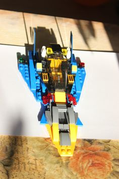 My second spaceship. Made in April, 2013. Photo #2 of 4