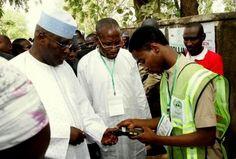 St. Zion: Shehu Shagari and Atiku Abubakar at their polling ...