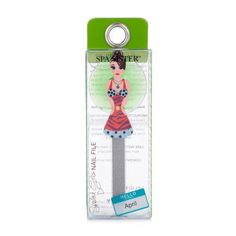 Spa Sister Spoiled Girl Nail File & Suction Cup, Nurse Liz