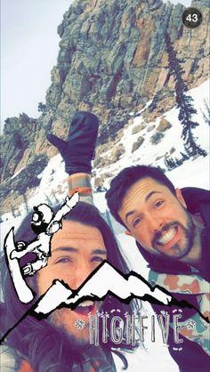 Snowboarding with Shonduras
