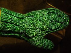 Ravelry: Skinny Fit Mitts pattern by Andrea Black