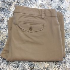 BNWOT gap khaki pants My Closet Rules: No Holds or Trades Same Day or Next Day Shipping All Items are in Gently Used Condition Unless Stated Otherwise GAP Pants
