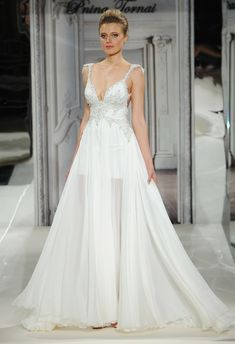Pnina Tornai Spring 2014 Wedding Dresses - would change the straps but the flow is gorgeous!