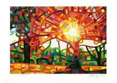 "Daily Paintworks - ""Landscape Study #60"" - Original Fine Art for Sale - © Mandy Budan"
