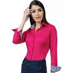 Camisa Social de Fio Egípcio Principessa Danny - Pink [CLIQUE EM VISITAR]