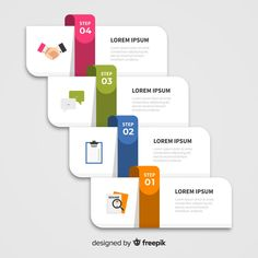 Discover thousands of free-copyright vectors on Freepik Infographic Powerpoint, Free Infographic, Infographic Templates, Infographics Design, Timeline Infographic, Design Plat, Design Food, Web Design, Powerpoint Slide Designs