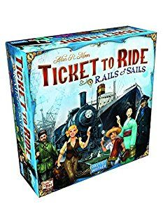 Amazon.com: Ticket To Ride Rails & Sails Board Game: Toys & Games