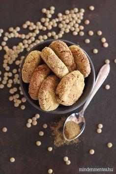 Lencse falafel sütőben sütve - #gluténmentes #vegán recept |mindenmentes.hu