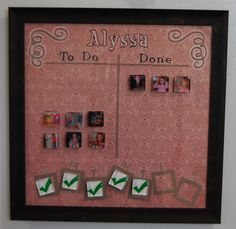 Chore Chart This is being added to my house for both boys