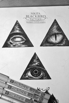 Tattoo sketches. Graphic, dotwork, linework.