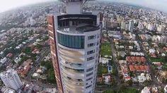 Vista aerea Torre Caney - FlyCloud - Av. Anacaona, Santo Domingo, Repúbl...