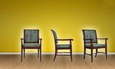 Kensington Chairs. El tiempo parece correr más lento cuando cuando se está con comodidad y tranquilidad! #MoberTeInspira