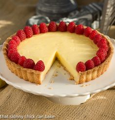 Tarte au Citron from That Skinny Chick Can Bake