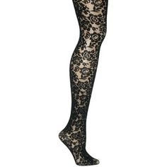 assorted floral tights