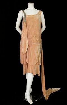 Dress 1920s Vintage Textile