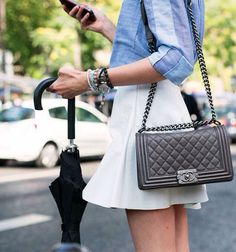 Chanel handbag #chanel