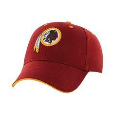 NFL Twins Enterprise Men's Official Replica Adjustable Baseball Hat - Washington Redskins