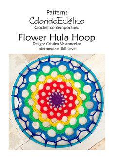 PATRÓN flores del hula por ColoridoEcletico en Etsy
