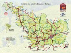 Map wine region