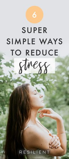 Stress is a common complaint in today's society; it can lead to all kinds of problems, including high blood pressure, heart disease, emotional and mental health problems, relationship difficulties and family troubles. Reducing your stress levels has a positive impact on your life and your health. Here are 6 ways to reduce stress. #stress #anxiety #stressrelief #reducestress #anxious
