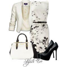 "Career Fashion - ""Noha"" by stylisheve on Polyvore"