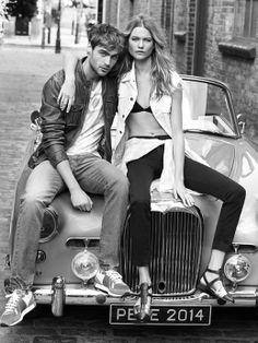 #monochrome #fashion #couple #car #blackandwhite