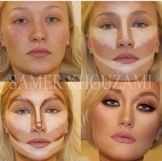 Ok I see it.... But how the hell do you go about blending that? I works just blob it around. Lol