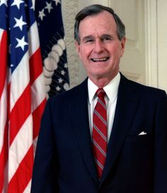 Items similar to Portrait of George HW Bush, President of the US. American Presidents, US History, American government, . Cotton Canvas Print on Etsy List Of Presidents, American Presidents, American Soldiers, Us History, American History, American Union, History Facts, Family History, Helmut Kohl