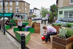 City Furniture, Outdoor Furniture Sets, Outdoor Decor, Wood Furniture, Active Design, Urban Intervention, Temporary Structures, Public Seating, Social Housing