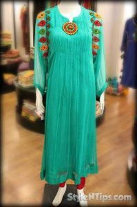 Stylish Dresses For Pakistani women at Fashion Week