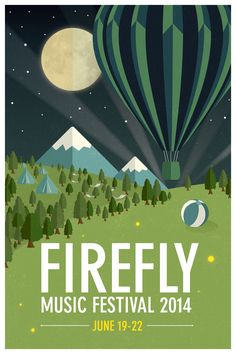 music festival posters 2014 - Google Search. . .  Checked this one off the…