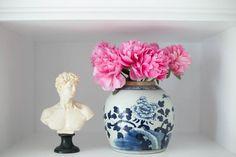 Blue and White Lidded Melon Jar – Caitlin Wilson Textiles