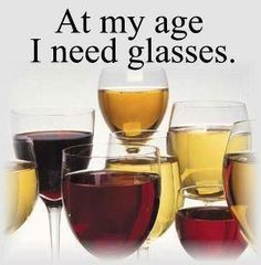 Rather these glasses than my reading glasses!