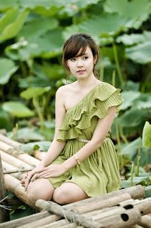 Entertainment: Vietnamese Beautiful Girls with Ao Yem and Lotus