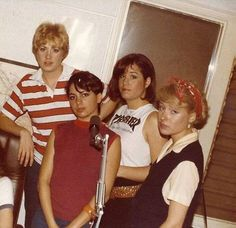 The Bangs, later known as the Bangles, 1982, Los Angeles