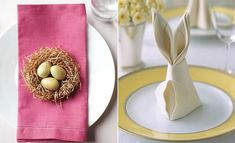 Consigli su come apparecchiare la tavola per Pasqua.
