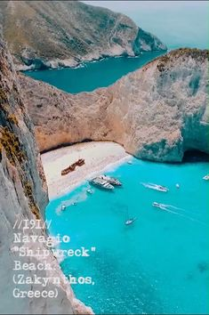 Shipwreck Zakynthos The one only beach and share the Video by tasospletsas The one only beach and Vacation Places, Dream Vacations, Vacation Spots, Beach Vacations, Beach Hotels, Beach Resorts, Beautiful Places To Travel, Cool Places To Visit, Spain Travel