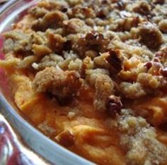Gourmet Sweet Potato Classic http://m.allrecipes.com/recipe/15633/gourmet-sweet-potato-classic