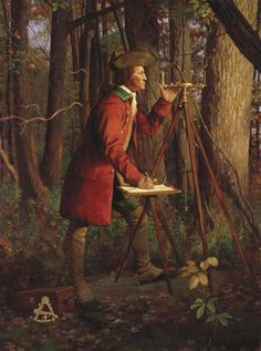 young George Washington by Mike Wimmer. He was a surveyor in his younger days. George Washington History, Young George Washington, Early American, Native American Art, American History, American War, Colonial Art, Seven Years' War, American Revolutionary War